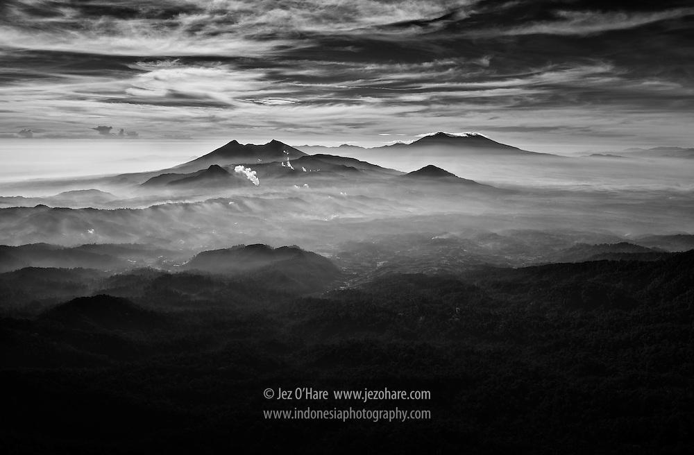 Mount Halimun-Salak National Park, Sukabumi regency, West Java, Indonesia