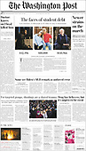 April 09, 2021 - USA: Front-page: Today's Newspapers In United States