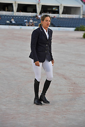 March 9, 2019 - Wellington, Florida, United States Of America - WELLINGTION, FL - MARCH 09: SATURDAY NIGHT LIGHTS: Laura Kraut participates The highlight event of week 9 at the 2019 Winter Equestrian Festival, the $391,000 Douglas Elliman Real Estate Grand Prix CSI 5*. The Winter Equestrian Festival (WEF) is the largest, longest running hunter/jumper equestrian event in the world held at the Palm Beach International Equestrian Center on March 09, 2019  in Wellington, Florida..People:  Laura Kraut. (Credit Image: © SMG via ZUMA Wire)