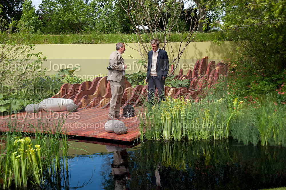 THOMAS HOBLYN; ZAC GOLDSMITH, Press and VIP viewing day. Chelsea Flower show, Royal Hospital Grounds. Chelsea. London. 18 May 2009