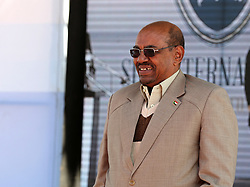 File photo dated January 24, 2016 of Sudanese President Omar al-Bashir attending a ceremony in Sudan. President Omar al-Bashir has been detained and a military council will run the country for a two-year transitional period, Sudan's defense minister announced Thursday, bringing an end to Bashir's 30-year reign. Photo by Depo Photos/ABACAPRESS.COM