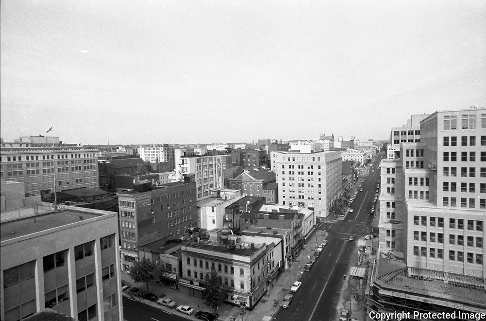 11th and E Street NW Washington DC, 1986