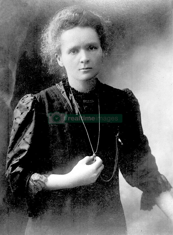 File photo c.1913 of Marie Curie who has been voted the woman who has made the most significant impact on world history.