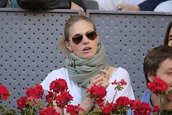 May 14, 2018 - Madrid, Spain - Genoveva Casanova  during day 9 of the Mutua Madrid Open tennis tournament at the Caja Magica in Madrid, Spain. on May 12, 2018 in Madrid, Spain  (Credit Image: © Oscar Gonzalez/NurPhoto via ZUMA Press)