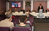Candidates forum hosted by BIBA at the Beane Conference Center in Laconia, October 22, 2012.