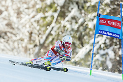 Thomas Fanara (FRA) competes during 9th Men's Giant Slalom race of FIS Alpine Ski World Cup 55th Vitranc Cup 2016, on March 4, 2016 in Kranjska Gora, Slovenia. Photo by Vid Ponikvar / Sportida