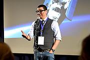 Perslancering Wubbo's last words: Save the Earth! - in Space Expo Noordwijk. Een inspirerende en optimistische show over zijn leven en het redden van onze planeet.<br /> <br /> Op de foto:  Jorgen Raymann
