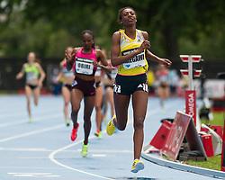 adidas Grand Prix Diamond League professional track & field meet: womens 1500 meters, Abeba AREGAWI, Sweden
