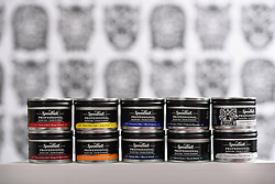 20160627 Speedball Art Products Company of Statesville releases Speedball Professional Relief Ink used by artist Bill Fick. Fick is currently a Visiting Assistant Professor at Duke University in the Department of Art, Art History and Visual Studies. Fick's installation is at SECCA May 31st - July 10. <br /> © Laura Mueller<br /> www.lauramuellerphotography.com