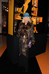 VIRGINIA BATES at the annual Veuve Clicquot Business Woman of the Year Award this year celebrating it's 40th year, held at Claridge's, Brook Street, London on 18th April 2012.