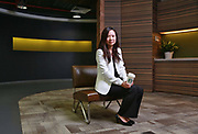 Belinda Wong, chief executive officer of Starbucks (China) Company Limited, poses for photographs at the company's office in Shanghai, China on 07 September 2012. Starbucks now has over 4000 stores in China, one of its fastest growing markets.