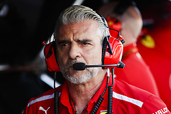 April 7, 2018 - Sakhir, Bahrain - ARRIVABENE Maurizio, Managing Director & Team Principal Scuderia Ferrari, portrait during 2018 Formula 1 FIA world championship, Bahrain Grand Prix, at Sakhir from April 5 to 8  I  Motorsports: FIA Formula One World Championship 2018, Grand Prix of Bahrain, (Credit Image: © Hoch Zwei via ZUMA Wire)