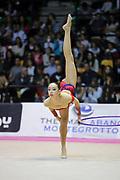 Asia Rigato durante la tappa di Desio del 01-11-2014 del Campionato Italiano Serie A1 di Ginnastica Ritmica.<br /> Asia ha partecipato per l'Arcobaleno Prato.