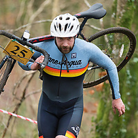 Dave O'Neill from Swords CC competing in Ennis CX Cyclocross Race at Lees Rd, Ennis