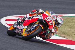 June 9, 2017 - Barcelona, Catalonia, Spain - MotoGP - Marc Marquez(Spa), Repsol Honda Team during the MotoGp Grand Prix Monster Energy of Catalunya, in Barcelona-Catalunya Circuit, Barcelona on 9th June 2017 in Barcelona, Spain. (Credit Image: © Urbanandsport/NurPhoto via ZUMA Press)