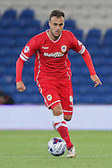Juan Cala of Cardiff City. Capital One Cup, 3rd round match, Cardiff City v AFC Bournemouth at the Cardiff City stadium in Cardiff, South Wales on Tuesday 23rd Sept 2014<br /> pic by Mark Hawkins, Andrew Orchard sports photography.