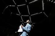 Un delegato dell'assemblea annuale di Confartigianato denuncia lo stato di crisi della sua azienda del centro Italia<br /> Roma - Auditorium Parco della Musica 11 giugno 2013. Matteo Ciambelli / OneShot