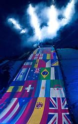 07-02-2011 SKIEN: FIS ALPINE WORLD CHAMPIONSSHIP: GARMISCH PARTENKIRCHEN<br /> features from the Opening during official Official opening ceremony Fis Alpine Ski World Championships in Garmisch Partenkirchen<br /> **NETHERLANDS ONLY**<br /> ©2011-WWW.FOTOHOOGENDOORN.NL/NPH- J. Groder