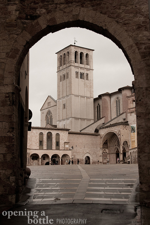 Basilica San Francisco de Assisi (Church of St. Francis). Full color version available. Contact via email to request.