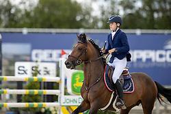 De Plecker Vic, BEL, Extrait de Tatowin de Tinmont<br /> Belgisch Kampioenschap Jeugd Azelhof - Lier 2020<br /> © Hippo Foto - Dirk Caremans<br /> 02/08/2020