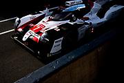 June 10-16, 2019: 24 hours of Le Mans. 7 TOYOTA GAZOO RACING, TOYOTA TS050 - HYBRID,  Mike CONWAY, Kamui KOBAYASHI, Jose Maria LOPEZ , morning warmup