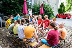 during photoshoot on July 30. 2020 in Veržej, Slovenia. Photo by Blaž Weindorfer / Sportida
