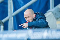 Hamilton's manager Alex Neil.<br /> Falkirk 1 v 1 Hamilton, Scottish Premiership play-off semi-final first leg, played 13/5/2014 at the Falkirk Stadium.