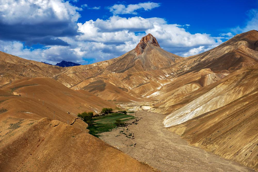Arid Ladakh Landscape. June 2013