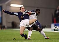 Fotball<br /> Privatlandskamp<br /> Tyskland v Argentina<br /> 9. februar 2005<br /> Foto: Digitalsport<br /> NORWAY ONLY<br /> Gabriel HEINZE Argentinien, Gerald ASAMOAH
