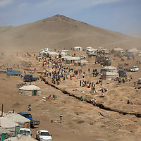 """Mongolia's massive gold reserves, discovered post 1990, now constitute 20 percent of the country's GDP. An estimated 100,000 people, many former herders who have left their livestock behind, work as illegal miners - called """"ninja miners"""". These miners produce more gold than the industrial mining sector. Experts estimate that most of this gold is smuggled across Mongolia's 2,900-mile border with China for sale in the Chinese domestic market."""