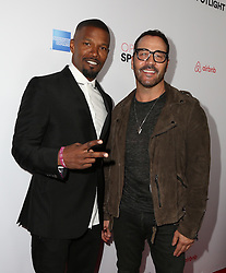 LOS ANGELES, CA - NOVEMBER 19: Celebrities attend the 3rd Annual Airbnb Open Spotlight at Various Locations on November 19, 2016 in Los Angeles, California. 20 Nov 2016 Pictured: Jamie Foxx, Jeremy Piven. Photo credit: @parisamichelle / MEGA TheMegaAgency.com +1 888 505 6342