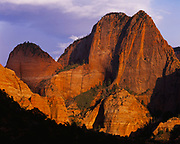 Nagunt Mesa, Finger Canyons of the Kolob, Zion National Park, Utah.