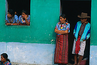 Guatemala, Lac Atitlan, Santiago de Atitlan // Guatemala, Atitlan lac, Santiago de Atitlan