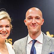 NLD/Utrecht/20160922 - inloop NFF 2016 - première Riphagen, Sieger Sloot en partner Renske de Greef