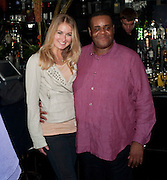 CLIVE ROWE; CRYSTAL FISHER, The Old Vic at the Vaudeville Theatre ' The Prisoner of Second Avenue'  press night. After-party at Jewel. 13 July 2010. -DO NOT ARCHIVE-© Copyright Photograph by Dafydd Jones. 248 Clapham Rd. London SW9 0PZ. Tel 0207 820 0771. www.dafjones.com.