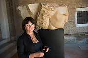 EMILY YOUNG, Emily Young,  The Cloister of Madonna Dell'Orto, Cannaregio 3512, Venice Biennale, Venice. 8 May 2015