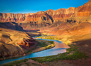 The Colorado River from Cardenas in the interior of the canyon in the interior of the canyon