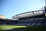 a General view of inside Stamford Bridge before k/o. Premier league match, Chelsea v West Ham United at Stamford Bridge in London on Monday 15th August 2016.<br /> pic by John Patrick Fletcher, Andrew Orchard sports photography.