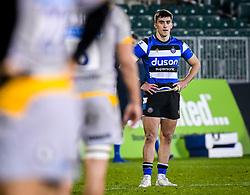 Cameron Redpath of Bath Rugby - Mandatory by-line: Andy Watts/JMP - 08/01/2021 - RUGBY - Recreation Ground - Bath, England - Bath Rugby v Wasps - Gallagher Premiership Rugby