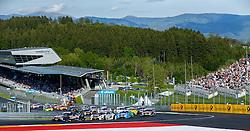 21.05.2016, Red Bull Ring, Spielberg, AUT, DTM, Red Bull Ring Spielberg, Rennen, im Bild Marco Wittman (GER / BMW Team RMG) vor Tom Blomqvist (GBR / BMW Team RBM), Edoardo Mortara (ITA / Audi Sport Team Abt Sportsline) und Adrien Tambay (FRA / Audi Sport Team Rosberg) // during the race of the DTM at the Red Bull Ring, Spielberg, Austria on 2016/05/21, EXPA Pictures © 2016, PhotoCredit: EXPA/ Erwin Scheriau