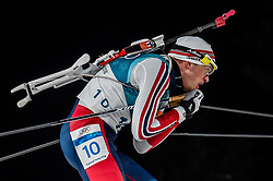 February 18, 2018 - Pyeongchang, Gangwon, South Korea - Tarjei Boe of  Norway competing in  15 km mass start biathlon at Alpensia Biathlon Centre, Pyeongchang,  South Korea on February 18, 2018. (Credit Image: © Ulrik Pedersen/NurPhoto via ZUMA Press)