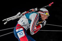February 18, 2018 - Pyeongchang, Gangwon, South Korea - Tarjei Boe of Norway competing in  15 km mass start biathlon at Alpensia Biathlon Centre, Pyeongchang,  South Korea on February 18, 2018. (Credit Image: © Ulrik Pedersen/NurPhoto via ZUMA Press)