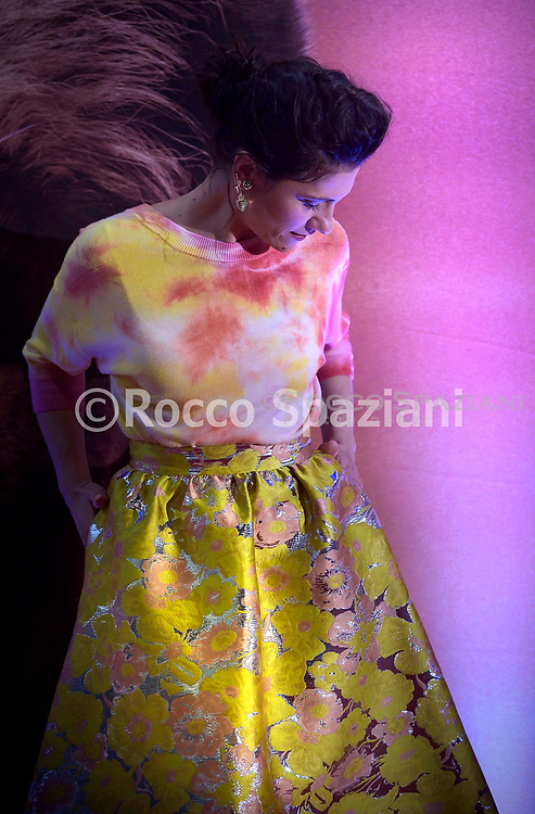 Il Re Leone<br /> Marco Mengoni (Simba) Elisa (Nala)<br /> voci nella versione italiana Roma il 12 luglio 2019