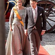 NLD/Den Haag/20170919 - Prinsjesdag 2017, Prins Constantijn en Prinses Laurentien