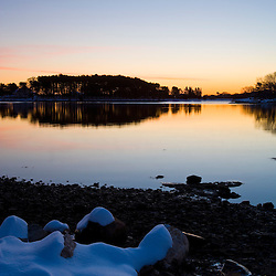 Dawn over Sagamore Creek in Portsmouth, New Hampshire.