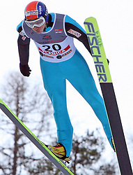 David Lazzaroni of France at e.on Ruhrgas FIS World Cup Ski Jumping on K215 ski flying hill, on March 14, 2008 in Planica, Slovenia . (Photo by Vid Ponikvar / Sportal Images)./ Sportida)