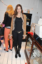 ASTRID MUNOZ at the launch of the Natalia Dress, inspired by Natalia Vodianova to benefit her Naked Heart Foundation held at Caramel Baby&Child, 77 Ledbury Road, London W11 on 16th May 2012.