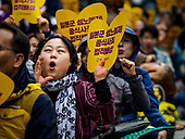 Comfort Women Protest at Japanese Embassy in Seoul