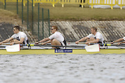 Seville. SPAIN, 17.02.2007,  GBR M8+ competing in Saturdays finals, held on the River Guadalquiver course. [Photo Peter Spurrier/Intersport Images]   [Mandatory Credit, Peter Spurier/ Intersport Images]. , Rowing Course: Rio Guadalquiver Rowing Course, Seville, SPAIN,