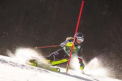 Charlie Guest (GBR) during the Ladies' Slalom at 56th Golden Fox event at Audi FIS Ski World Cup 2019/20, on February 16, 2020 in Podkoren, Kranjska Gora, Slovenia. Photo by Matic Ritonja / Sportida